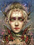Bittersweet Butterly by Si3art