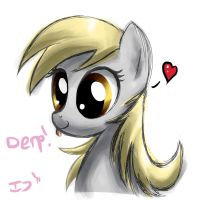 Derpy sketchy by DeerHooves