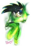 Neo using Chaos Energy by DragonWarrior25