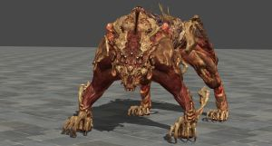 Re6 Simmons Sabretooth (Original bones) by zeushk