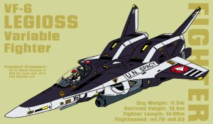 VF-6 Legioss - fighter by Grebo-Guru