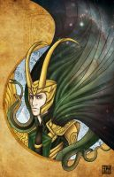 Loki Laufeyson by BlackKrogoth