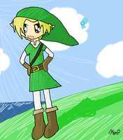 A Day At Lake Hylia by Black-Kat-55