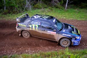 Ken Block at Olympus Rally by qmorley