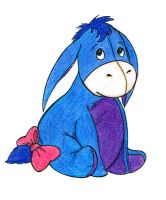 Baby Eeyore by Sparkle-And-Sunshine