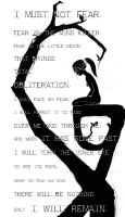 Litany Against Fear by s-n-a-p