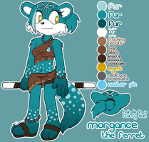 COMM: Morgance Reference by MintyStitch
