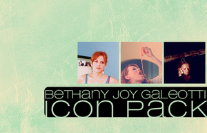 bethany joy icon pack by Sara-Devestation