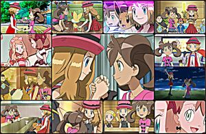[Request] Serena x Shauna~Collage by TheKalosQueenSerena