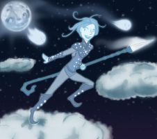 Out Running Moonbeams by distantShade