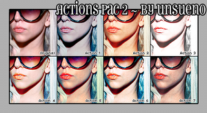 Actions Pac 2 - By unsueno. by unsueno