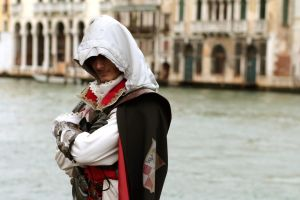 Ezio in Venice by RoxaSora2010
