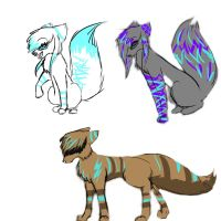 BREEDABLES.... by wolf-drawer-kayla