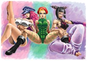 Cammy Juri Poison by PAPER---MAN