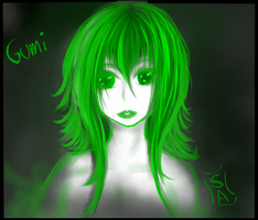 GUMI Sketch by SileceneAlethea