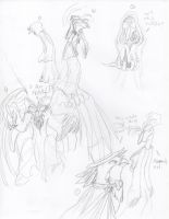 Small Oct Sketch Dump by Leeanix