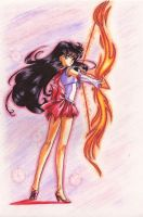 Sailor Mars by Tyutya