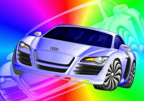 audi R8 by cryingsoul85