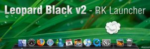 Leopard Black v2 theme by iscool69