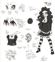 Laughing Jill Ref +BIO/BACKSTORY+ by SabrinaNightmaren