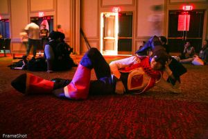 NiGHTS Reclining by Mariogal
