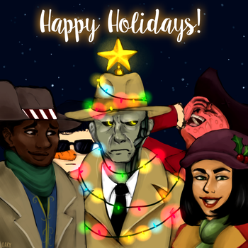 A Very Commonwealth Christmas by Oakydeer