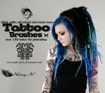 Tattoo Brushes by Neveryph-stock