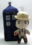 The Seventh Doctor Cross Stitch Doll by rhaben