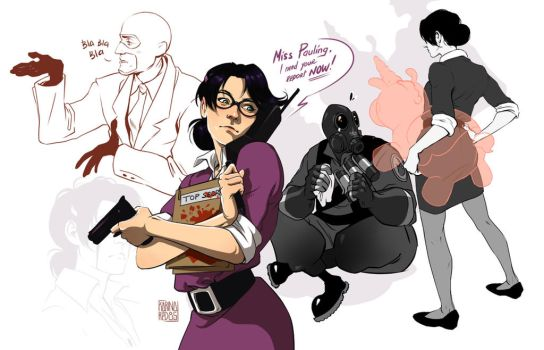 Sketches TF2 by KRedous