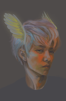 hermes|luhan by Julia-Yes
