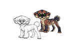 Species concept sketchy+ full copyrights *CLOSED* by NorthernRed