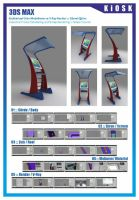 3ds Max ::: Kiosk by gorselefektanimasyon