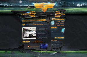 Driving School Website by medienvirus