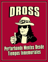 Poster retro de Dross by IamBonu