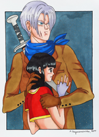 Help me, Trunks... by elfaba1993