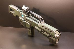 DOOM Reaper rifle 001 by Matsucorp