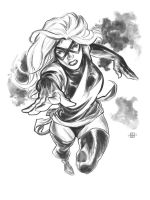 Ms. Marvel by deankotz