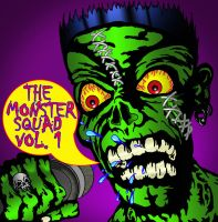 Monster Squad Album cover by Crucifer01