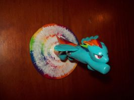 Sonic Rainboom Sculpture (SOLD) by beasert
