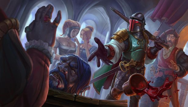 Boba Fett Landsknecht by looking4adventures