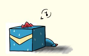 Totodile Cube by Shirobutterfly