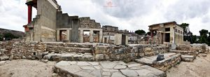 Knossos - The east side by Lykorias