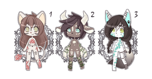 Gemstone Golem Adoptable Batch [OPEN (DISCOUNT) ] by Chiikalicious