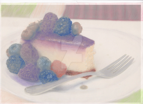 Under-printing - Berries Cheesecake by Nell-tu-lover