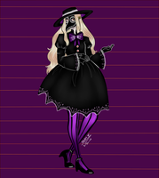 MH: Evelyn's Halloween Contest entry by Vandalaire
