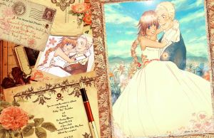 A romantic wedding . . . by eve-sh