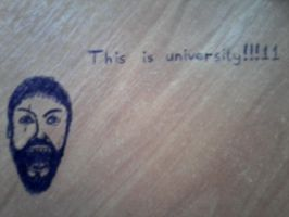 This is university!!11 by Omolonuem