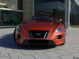 Audi aQa concept 3 by cipriany