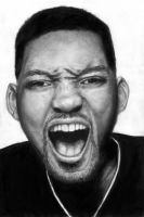 Will Smith Drawing by swiftlogix