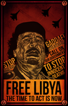 Free Libya by Everywhen